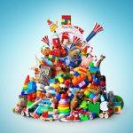 teveel speelgoed is niet goed voor de fantasie van kinderen